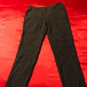 Brown Zara wool work pants